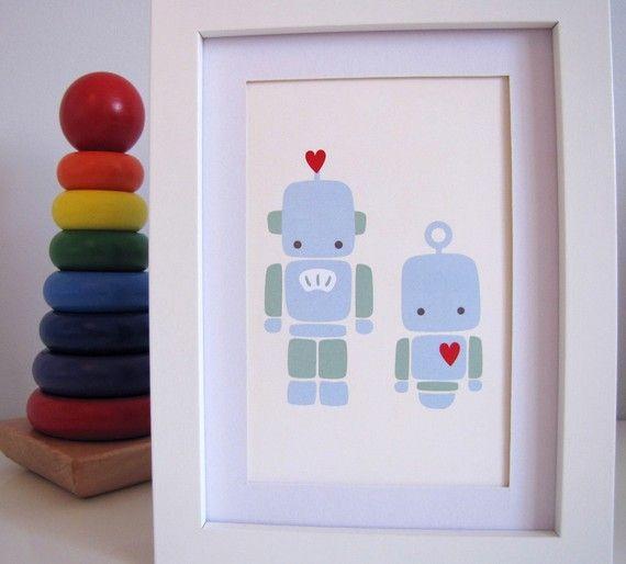 25 beste idee n over robot knutsel idee n op pinterest toiletrol ambachten kunstcentra en cielab - Gemengde babykamer idee ...