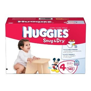 "This is the cheapest way i have found to buy diapers.  Amazon combined with their ""Subscribe and Save"" option is cheaper than i can find in any store, including Sams and Costco, and its free delivery!"