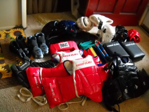 KARATE SPARRING GEAR LOT