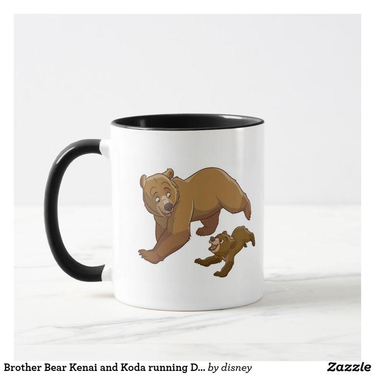 Brother Bear Kenai and Koda running Disney. Regalos Padres, fathers gifts, #DiaDelPadre #FathersDay