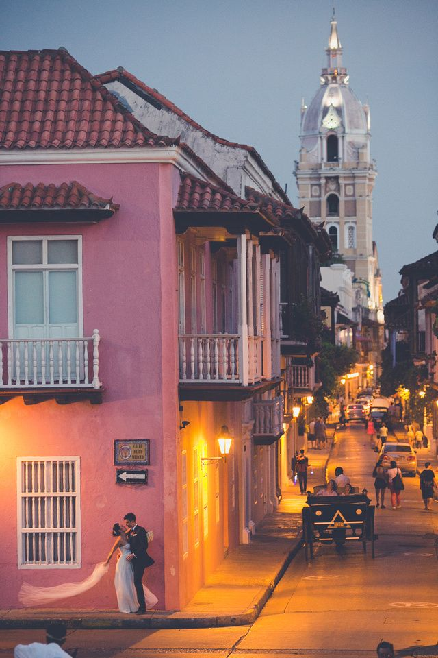 Wedding destination - Cartagena Colombia @teambride