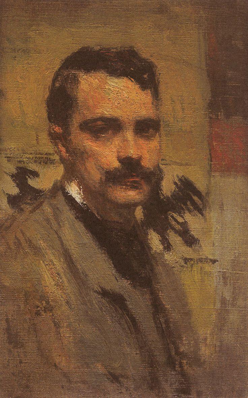 Arturo Noci, Autoritratto, 1905