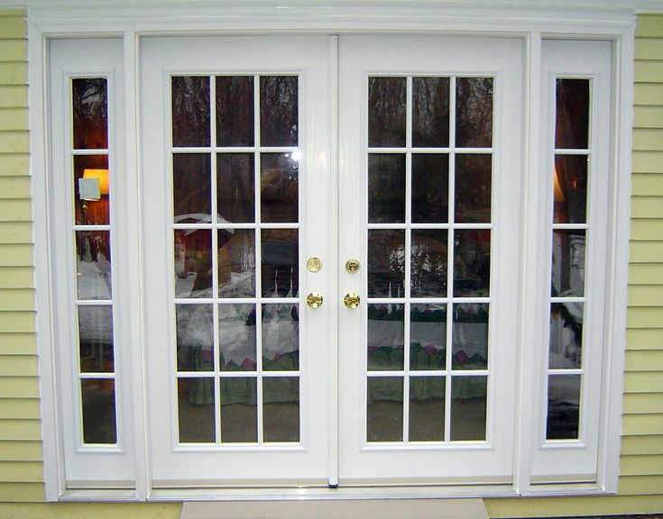 Best 25 double french doors ideas on pinterest double - Exterior french doors that open out ...