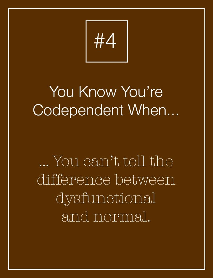 Dysfunctional Families Help Create Codependent People | Codependency Quiz