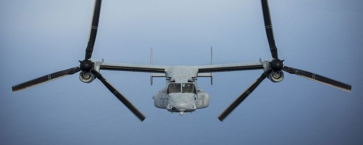The Aviationist » Marine MV-22 Osprey Tilt-Rotor Aircraft Complete First Pacific Crossing