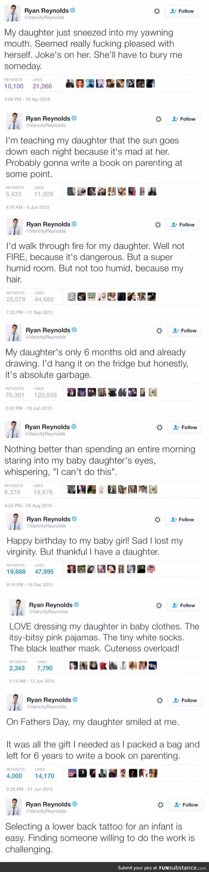 Ryan Reynolds tweets