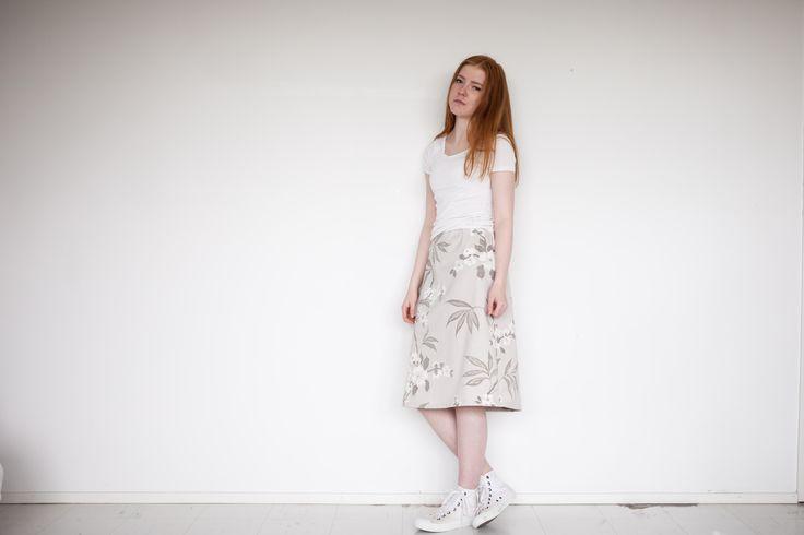niinmun´design flower skirt www.mycountryhome.fi