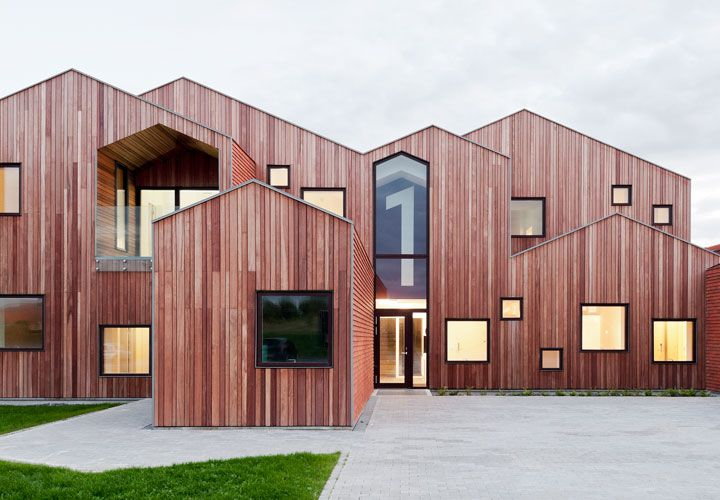Our home, complesso dedicato ai bambini a Kerteminde, Danimarca  (foto di Mikkel Frost - Cebra)