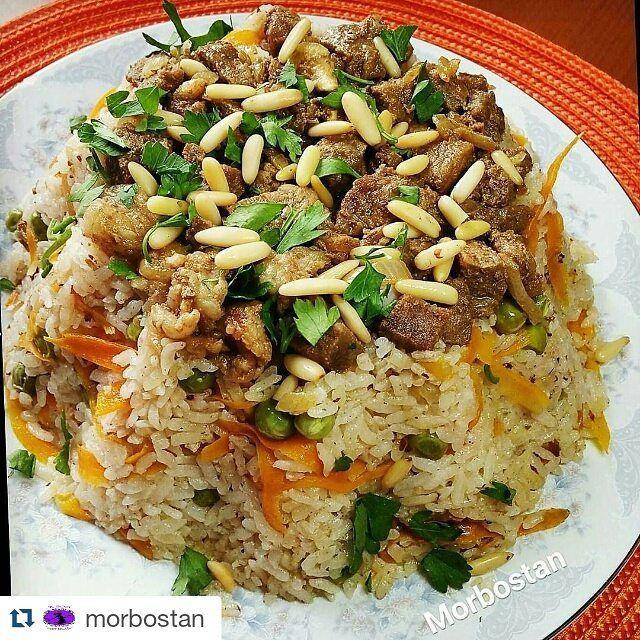 En güzel mutfak paylaşımları için kanalımıza abone olunuz. http://www.kadinika.com #Repost @morbostan with @repostapp  Arap pilavı:Tek başına tam bir ana öğün içindeki etiyle ve sebzesiyle çok doyurucu ve besleyici bir pilav#sizinlezzetleriniz @mavipembesunum #mavipembesunum  #cahidesultan #sunumyeriniz @lezzetlerim #lezzetlerim #cigdemlesunum #birdilimtarif #kupecicegii #mutfakgram #yemeklazım #anayemekler#keşfet #kadıngram #yemekrium #yemekgram #tarifsunum #hayatimmutfak #sahanelezzetler…
