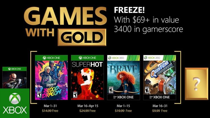 Xbox - March 2018 Games with Gold - http://gamesitereviews.com/xbox-march-2018-games-with-gold/