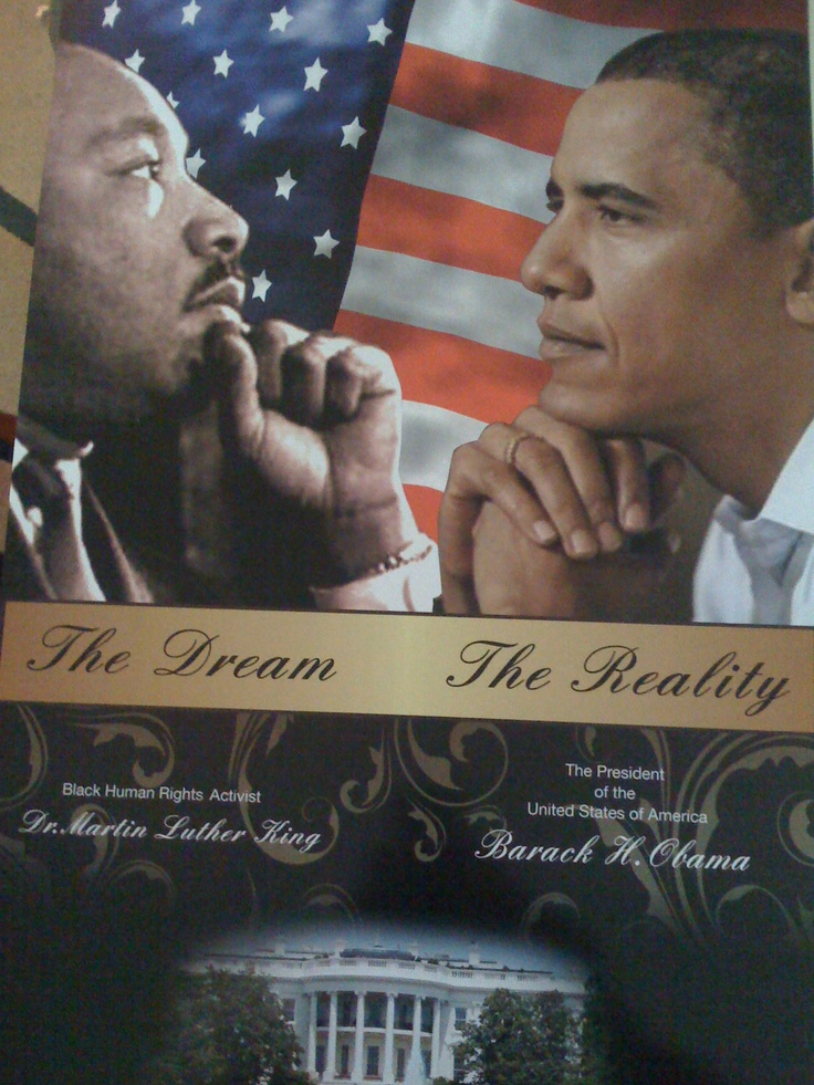 Martin Luther King | Barack W. Obama