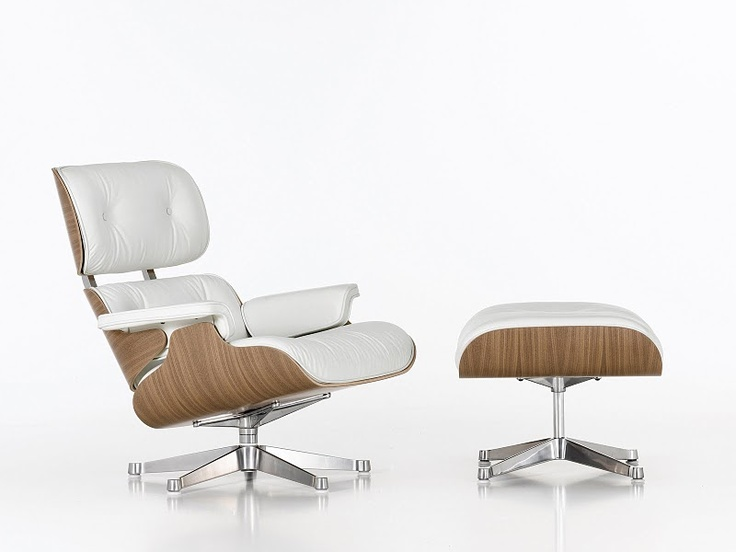 If you are going to get a 50th birthday present then it should be a timeless object of complete desire. Thank you Alison.   Eames Lounge Chair - white on white ash.