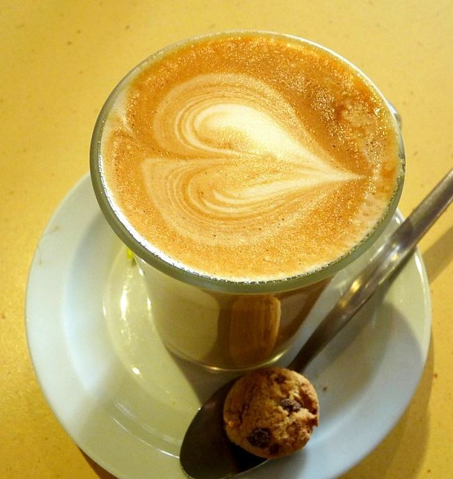 The classic flat white is an Australian speciality that is difficult to find in other countries, except when there is an Aussie barista