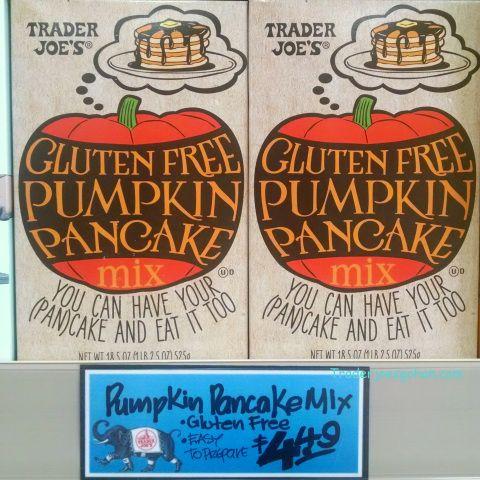 Trader Joe's Gluten Free Pumpkin Pancake Mix $4.49 18.5 ounce トレーダージョーズ グルテンフリー パンプキンパンケーキミックス