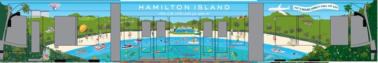 Mike Watt designs a Hamilton Island themed Melbourne Tram!