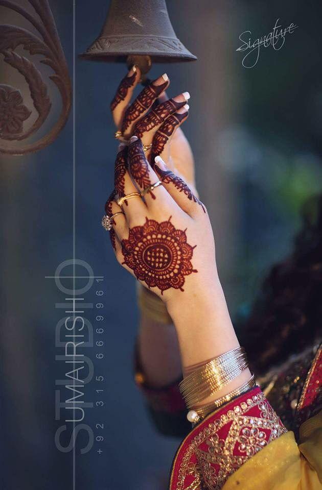 Beautiful Mandala Mehndi Design