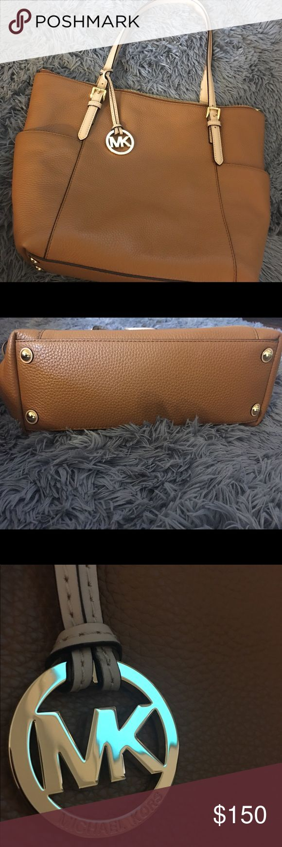 New Michael Kors Jet Set Tote Bag This is new without tags! Beautiful brown Jet Set Tote Bag ! Perfect for everyday use :) Michael Kors Bags Totes