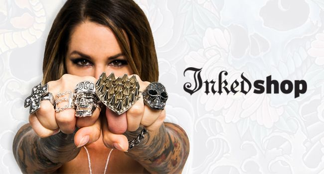 Inked shop coupons