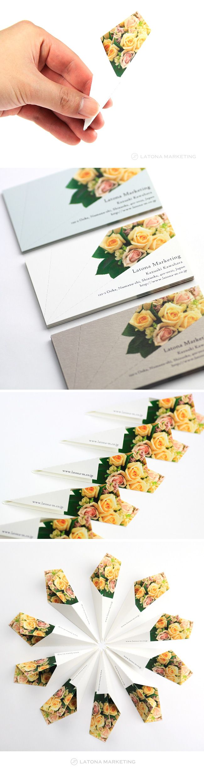 BOUQUET Business card(名刺デザイン)