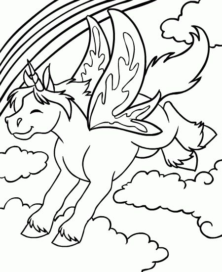 Neopets Coloring Pages For Kids 16