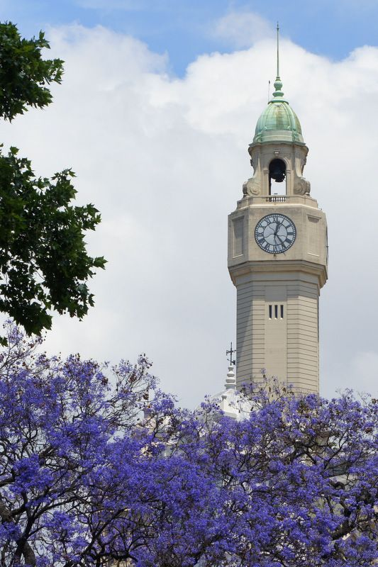 Torre Monumental, a clock tower you can go inside and ride up to the top - Plaza San Martin, Retiro, Buenos Aires