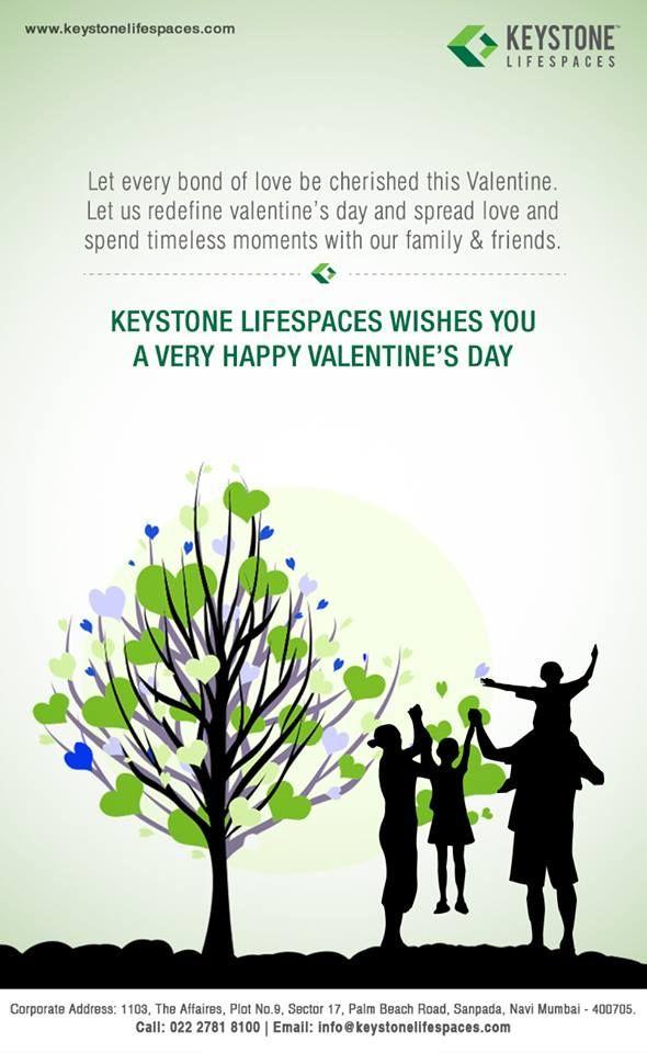 Keystone Lifespaces wishes everyone a very happy valentine's day.  www.keystonelifespaces.com #keystone #keystonebuilders #realestate #luxury #luxurioushouse #realtor #propertymanagement #bestpropertyrates #homesellers #bestexperience #homebuyers #dreamhome #mumbai #valentine #greeting