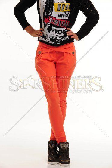 Pantaloni Mexton Senses Orange
