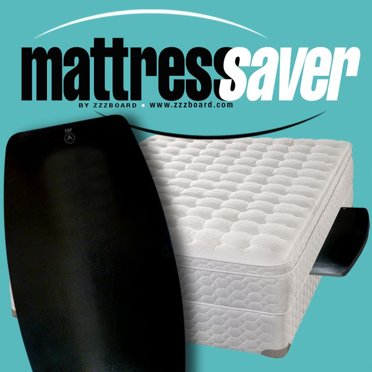 Mattress Saver - The Cost-Effective Way To Eliminate Mattress Sag! Order from www.zzzboard.com