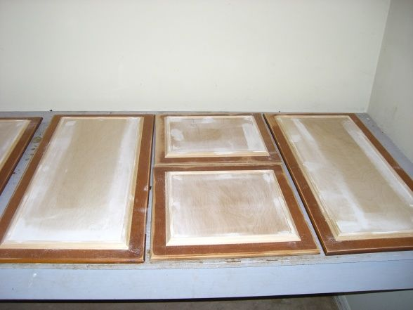 Kitchen Cabinet Update We Took Our Old 70s Cabinets And