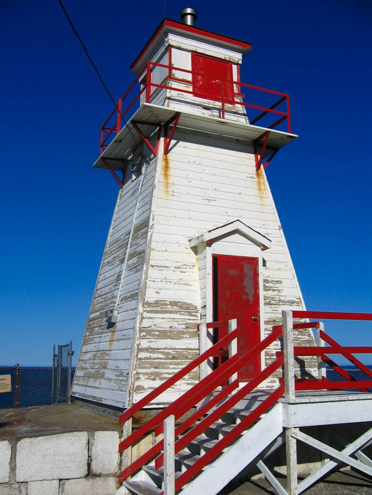 Fort Amherst Lighthouse is a must-see sight in St. John's, Newfoundland!