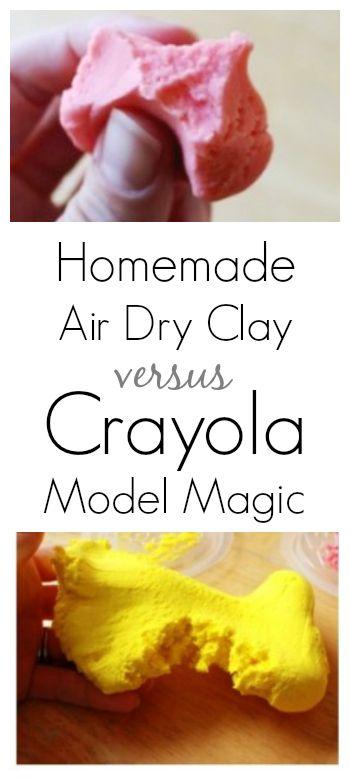 Homemade Model Magic vs Crayola Model Magic