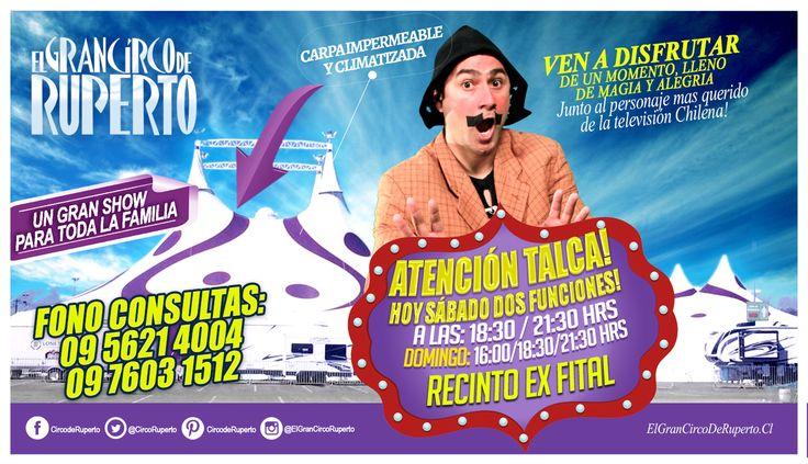 ATENCIÓN TALCA!! HOY ESTARÁ IMPERDIBLE!! SON DOS INCREÍBLES FUNCIONES!