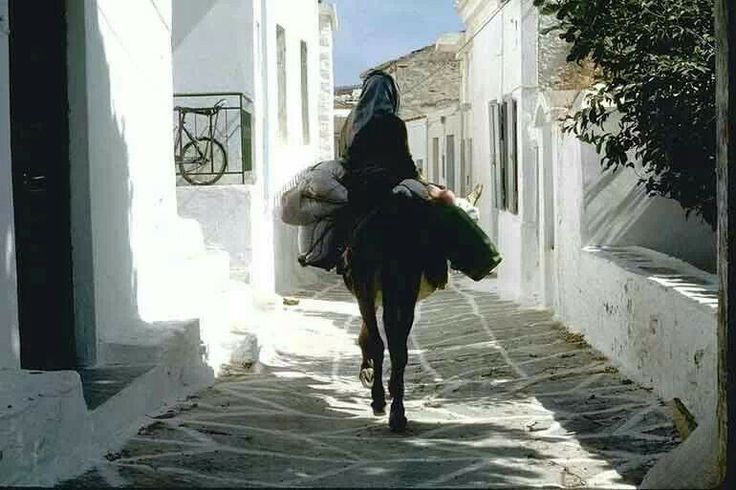 Kythnos island.... Transportation means !