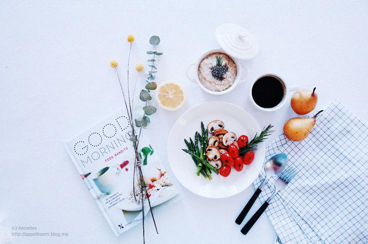 건강한 한끼 ♪ 퀴노아 죽과 구운 채소 - 든든하고 따끈한 아침식사. 건강식. 채식 / 리코GR : 네이버 블로그