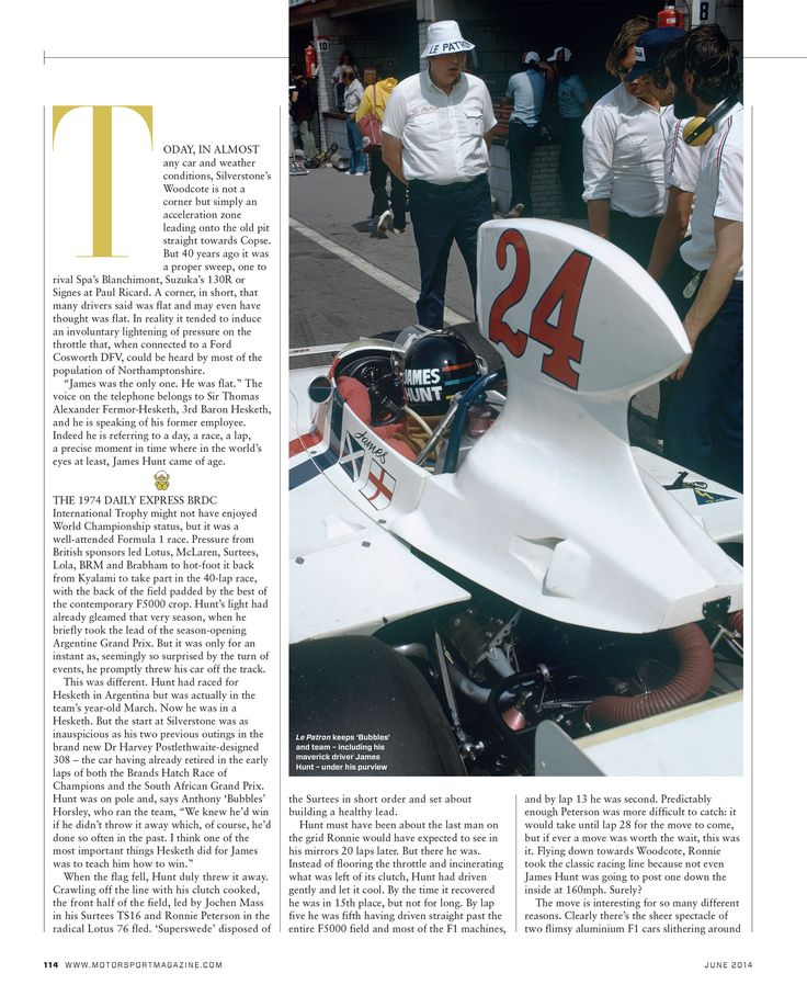 Page 114 of June 2014   Motor Sport Magazine Archive