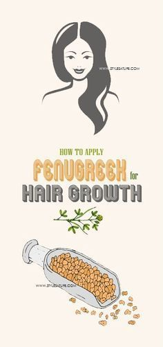 How to Use Fenugreek For Hair Growth?