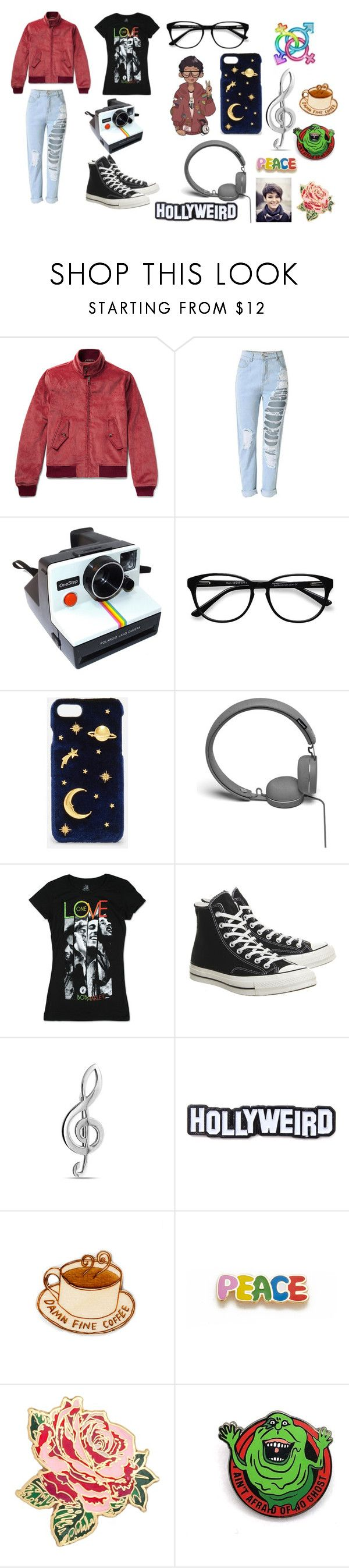 """Michael~Be more chill"" by mercy123 ❤ liked on Polyvore featuring Polaroid, EyeBuyDirect.com, CHARLES & KEITH, Urbanears, Converse, Bling Jewelry, Laser Kitten, Georgia Perry, Bando and bathroom"