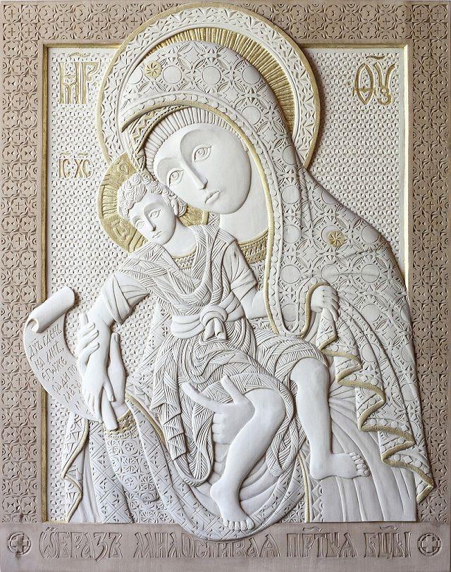 «Милостивая Богоматерь», 66х52 см