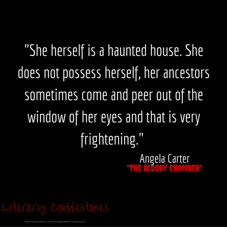 "November 14: Angela Carter's ""The Bloody Chamber"" for Gothic Literature Month 