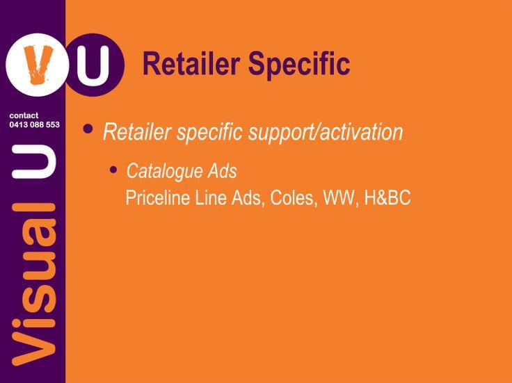 Visual U Retailer Specific