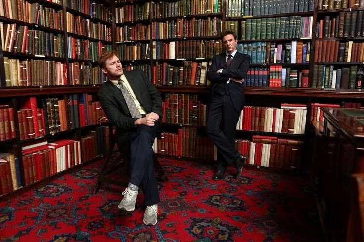 Chris Pratt and Peter Serafinowicz