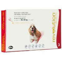 Image of Revolution for Medium Dogs 20.1-40lbs (Red) 6 Doses