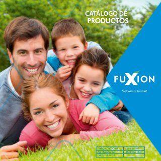 Catalogo de Productos FuXion presentación en diapositivas en nuevo catálogo fuxion