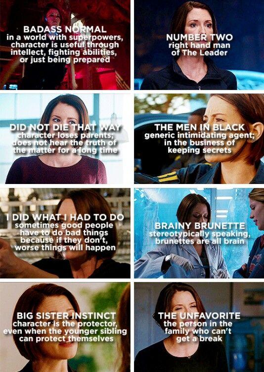 Alex Danvers + character tropes #Supergirl