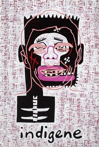 Gordon Bennett Abstraction (Indigene) 2010