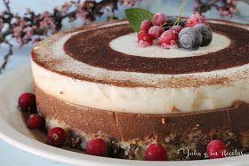 JULIA Y SUS RECETAS: Tarta fría de café y yogur