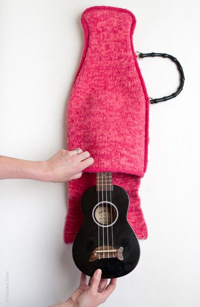 Ukulele case, perfect for Laurel!