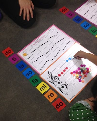 """Music Mind Games. Blog by various violin teachers. THIS article is about neato rainbow reading method """"Music Mind Games"""" using basic materials. The reviewer notes that these would be easy to DIY, but that the co. has really great quality stuff that are worth it."""