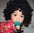Crochet Afro Wig: Crochet Afro, Diy Crafts, Black Hair, Crochet Hats, Crochet Baby, Afro Wigs, Afro Hats, Afro Crochet, Baby Afro