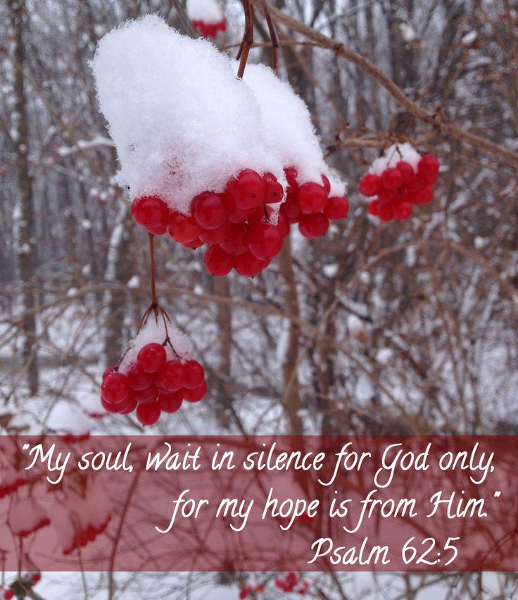 .Psalm 62:5